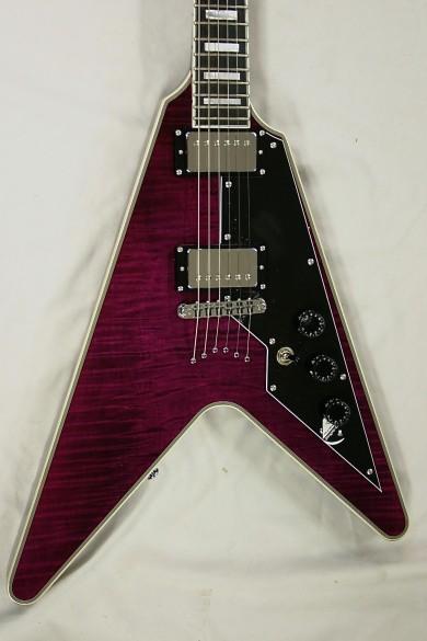 schecter V! Custom Violet - 1